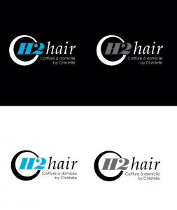 projet portfolio : Logo H2hair