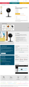 projet portfolio : Refonte UI Boutique Confort Engie