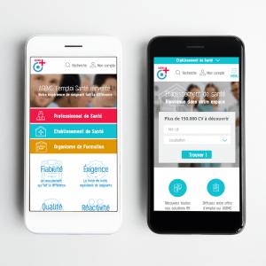 projet portfolio : UI design Jobboard AGEMS