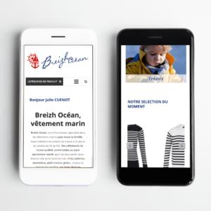 projet portfolio : Site marchand BREIZHOCEAN
