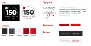 projet portfolio : Reservation en ligne restaurant Le 150