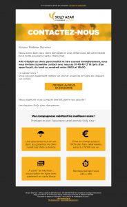 projet portfolio : webdesign Solly Azar