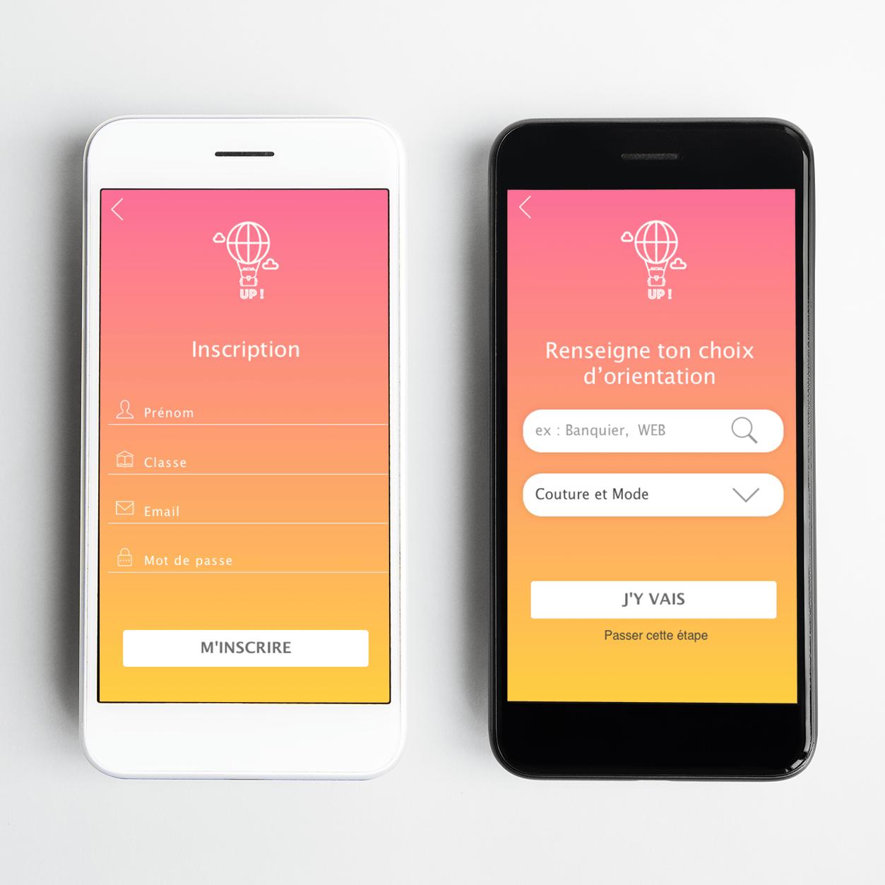 projet portfolio : UI design UP!