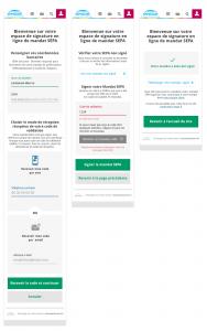 projet portfolio : Signature SEPA Engie
