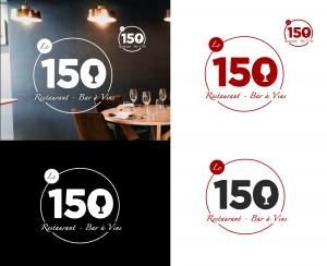 projet portfolio : Logo restaurant Le 150