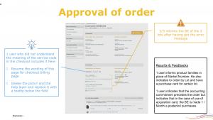 projet portfolio : User tests - Sprint Design